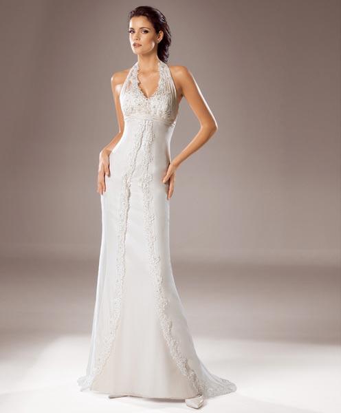 Свадебное платье MOD.163 из коллекции WHITE ONE 2008. Свадебные платья марки WHITE ONE