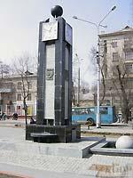 Часы влюбленных (бул.Шевченко)