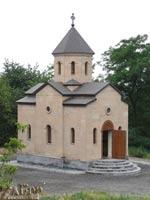 Церковь в районе 5-й городской больницы